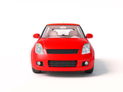 Red car vehicle financing