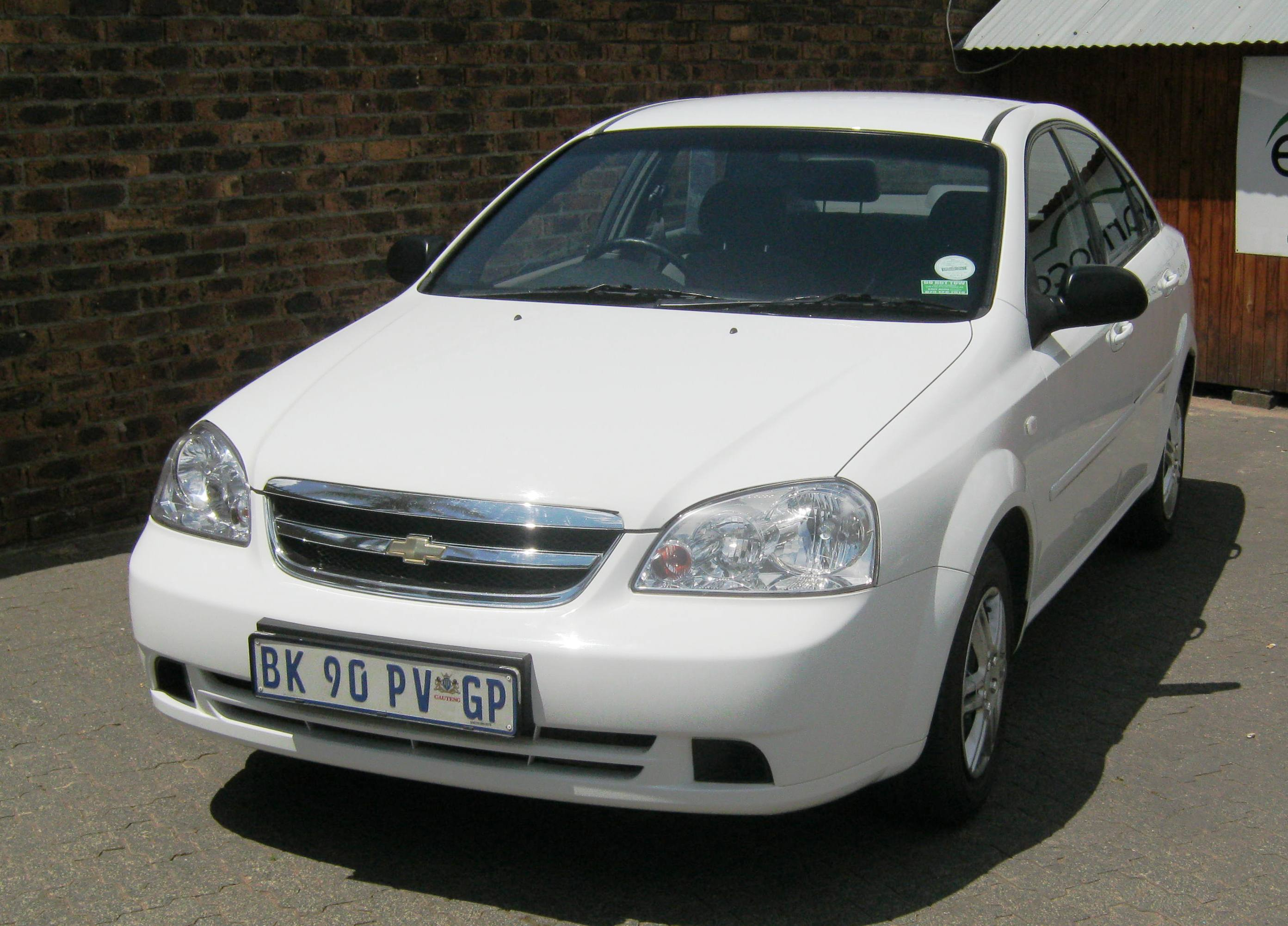 Chevrolet Optra 1.6L Earn A Car