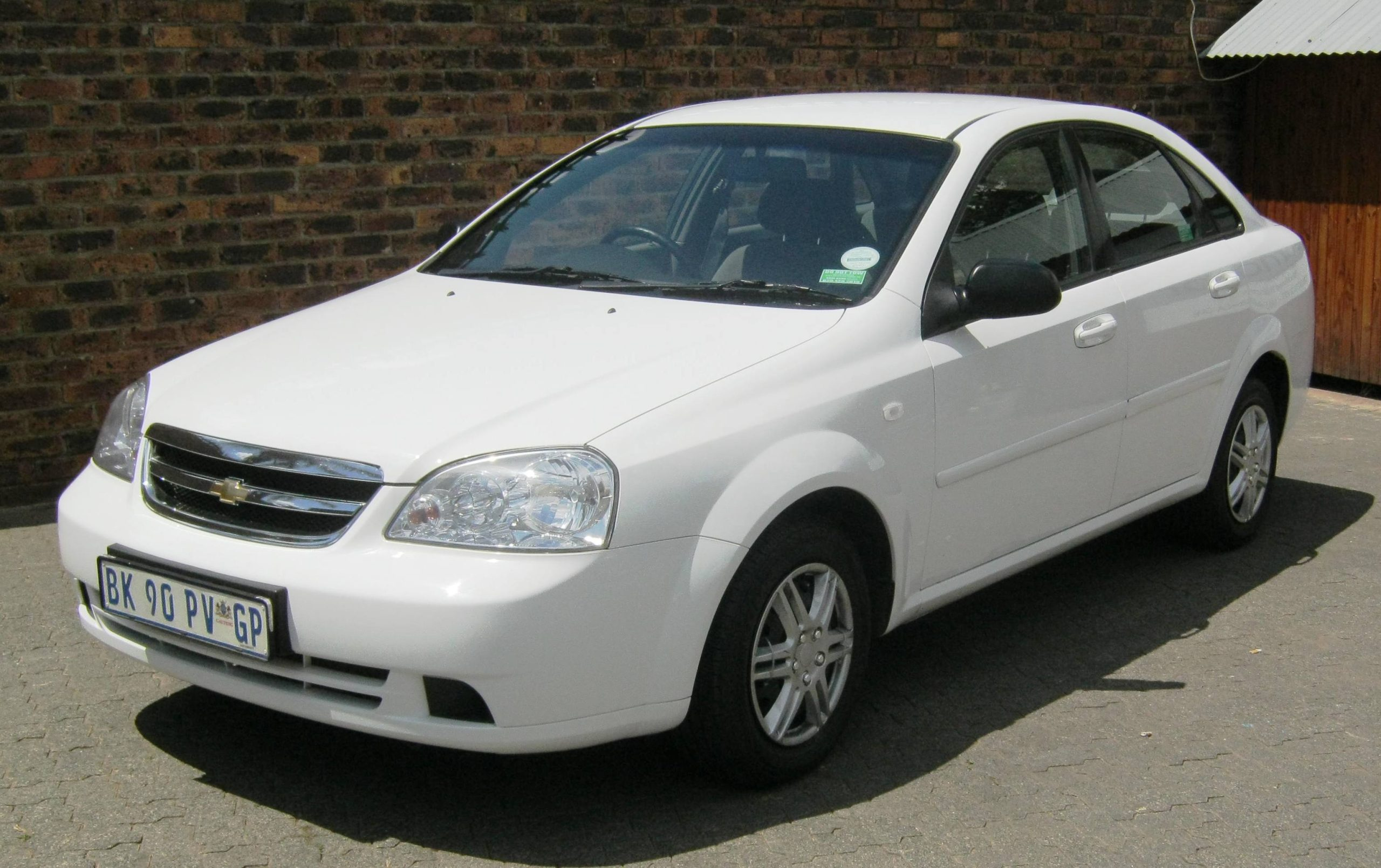 Chevrolet Optra 1.6L White Earn A Car