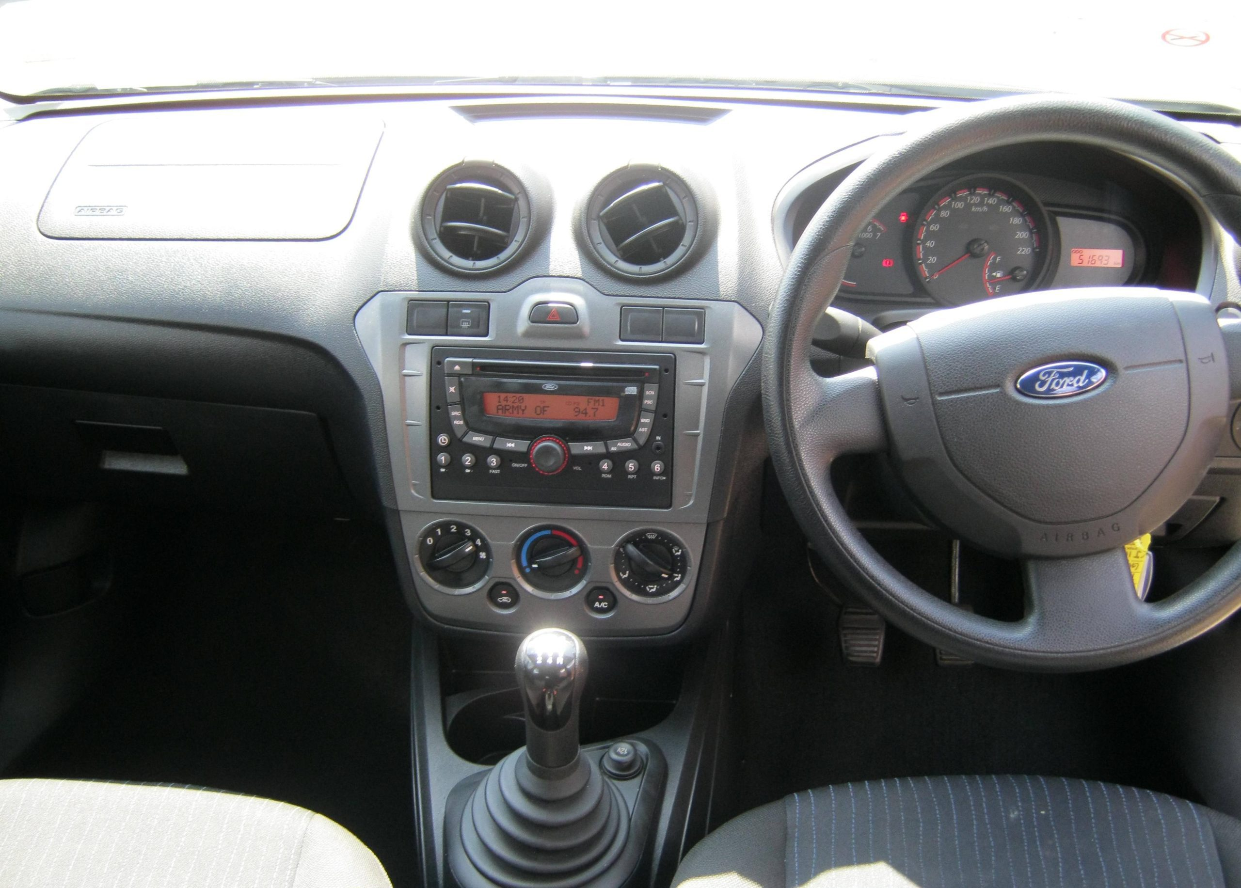 Ford Figo 1.4 Ambiente Dashboard Earn A Car