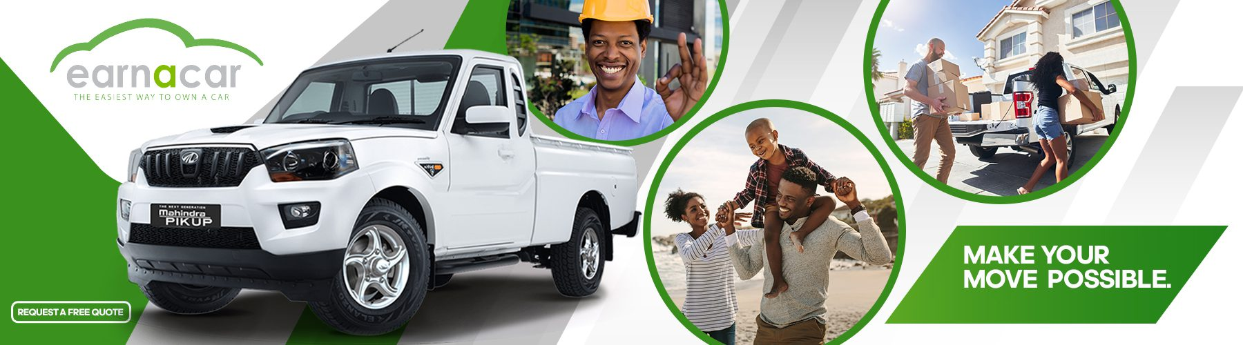 RELIABLE BAKKIE RENTAL IN JOHANNESBERG FROM ONLY R500 PER DAY!